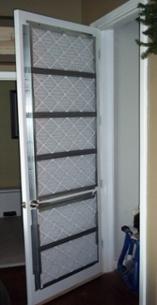 Hvac Closet Door Filter Modified Door
