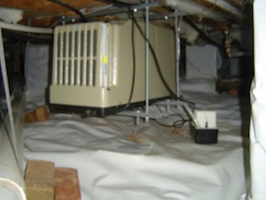 What Is the Best Way to Deal with Crawl Space Air?