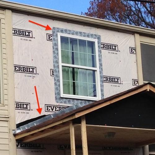 Awesome House Wrap Flashing Details Moisture Management Problem Window