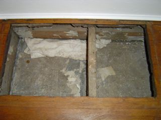 Perhaps The Worst Hvac Duct Idea Ever The Panned Joist