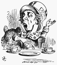 Mad Hatter By Tenniel