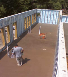 net zero energy home vandemusser design north carolina basement slab superior wall - Net Zero Home Design