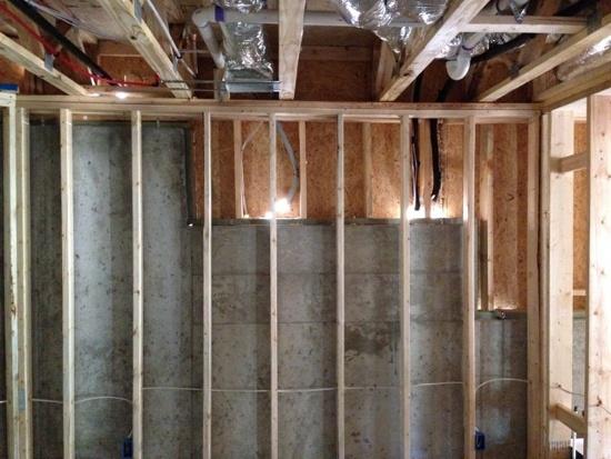 new home basement air sealing