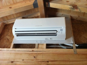& A New Way to Cool Your Attic - Powered Attic Mini-Split Heat Pumps