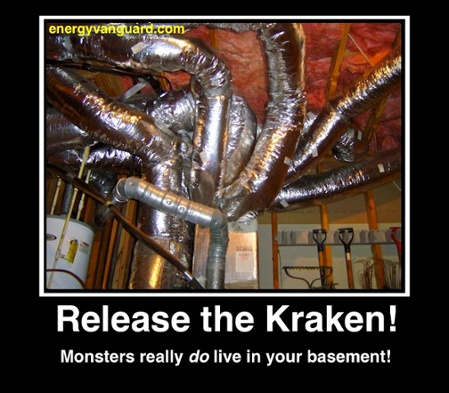 Release The Kraken The Ductopus Kraken