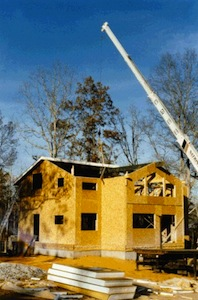 November memories building a house with structural for Building a house with sip panels