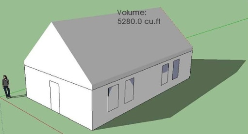 sketchup-for-raters-volume-measurement
