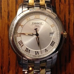 time temperature degree days tissot watch 300
