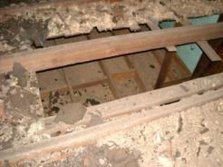Another Problem I See In Attics Is Attic With Two Ceilings And Insulation The Wrong Place