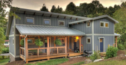 A really cool net zero energy home in the north carolina for Net zero home designs