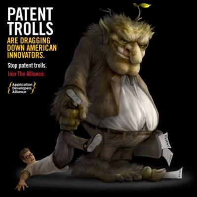 patent trolls dragging down innovators