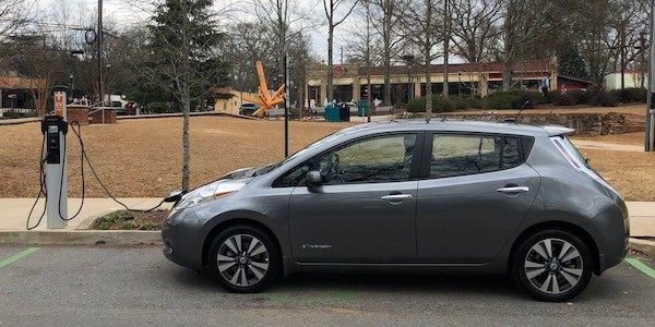 My 2014 Nissan Leaf electric vehicle