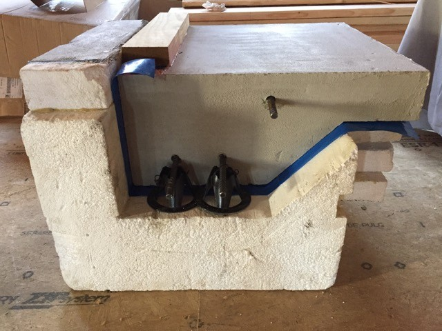 Insulated foundation footing form from Build SMART