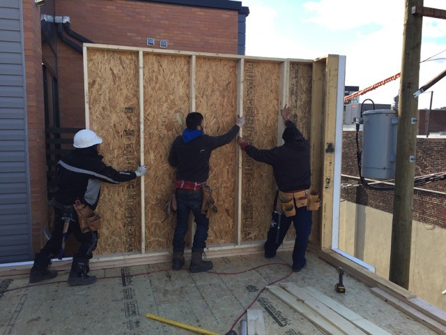 Assembling wall panels using the Build SMART system
