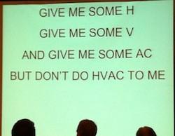 Henry Gifford's HVAC cheer