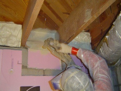 Crawl space encapsulation step 3 energy vanguard - Polystyrene insulation step by step ...