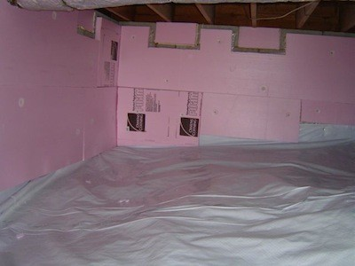Insulating Crawl E Walls Photos Wall And Door Tinfishclematis