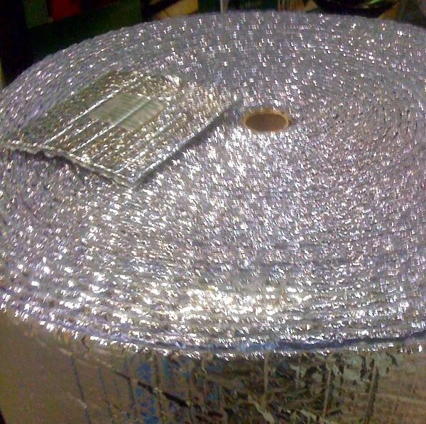 foil-faced bubble wrap, a radiant barrier product