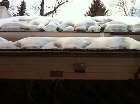 building enclosure roof ice dam heat strips aspen