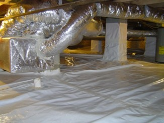 Features of an Encapsulated Crawl Space Energy Vanguard