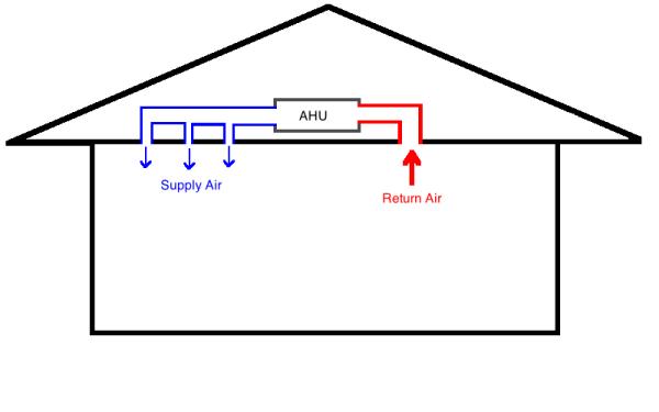 small wall air vent diagram