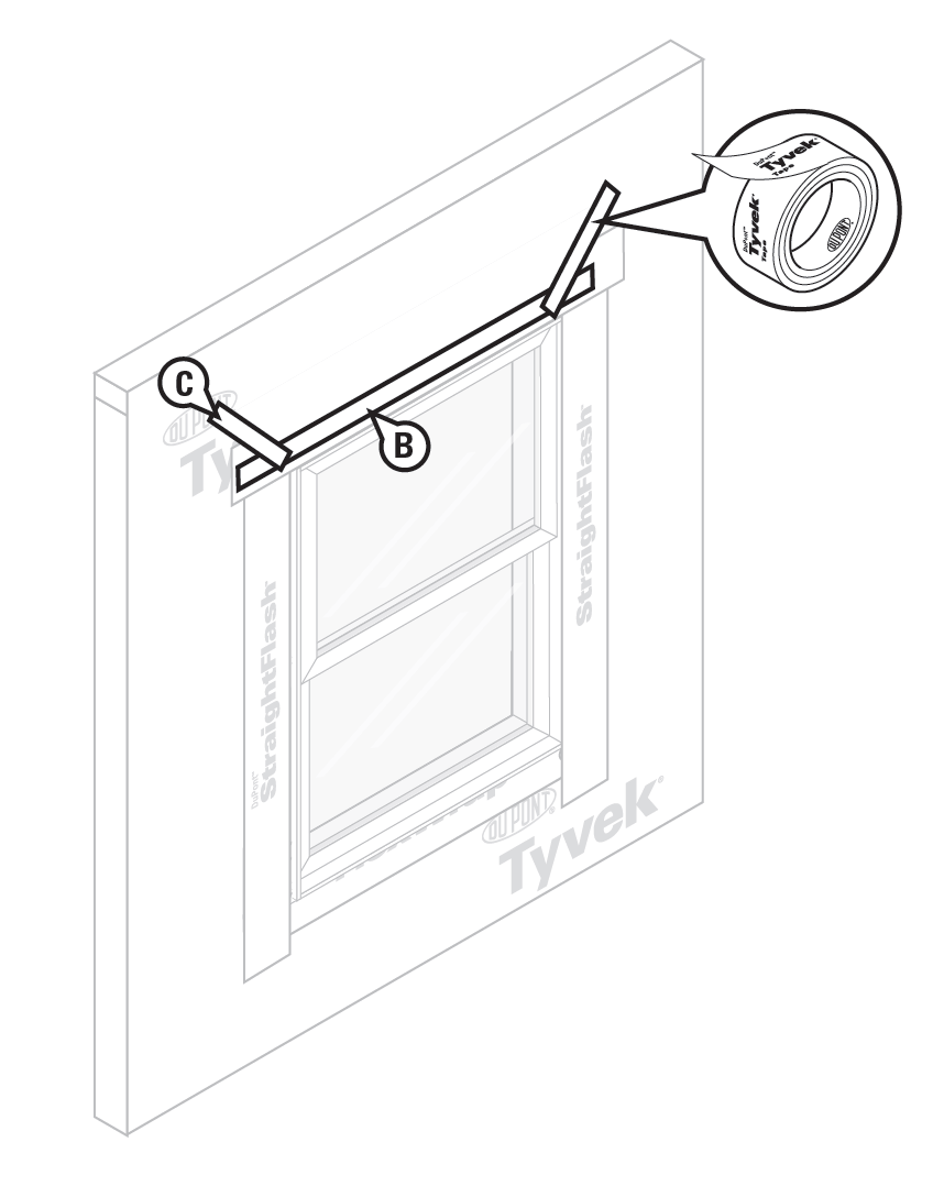 tyvek home wrap window flashing instructions step 5?itok=KGwbeTDN how to spot improper window flashing energy vanguard