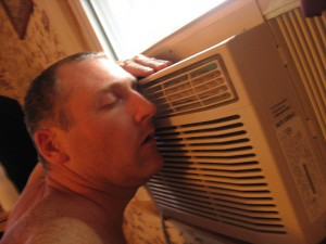 Staying cool with air conditioning