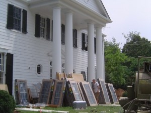 Al Gore's Tennessee home got an energy retrofit in 2007