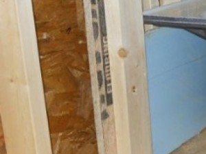 advanced framing t wall insulation thermal bridging