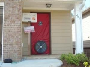 air barrier building envelope det verifier sleuthing blower door test