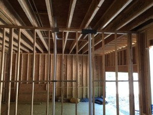 air leakage infiltration building enclosure design garage ceiling