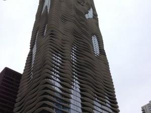 aqua tower chicago thermal bridge cooling fins