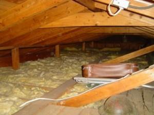 attic insulation air sealing home performance retrofit Ed Voytovich