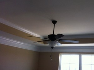 ceiling fan bonus room efficacy vs efficiency