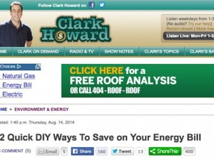 clark howard diy ways save energy bill