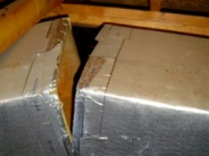 Duct leakage can trump right-sizing in HVAC design.