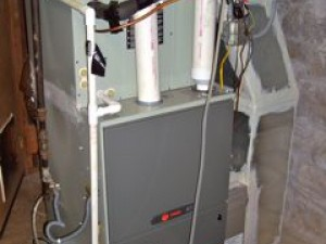 hvac high efficiency sealed combustion furnace variable speed air conditioner