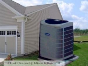 Oversized air conditioner