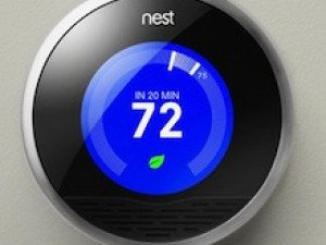 The Nest Learning Thermostat makes setbacks easy.