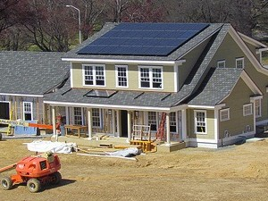 net zero energy home test facility nist photovoltaic module