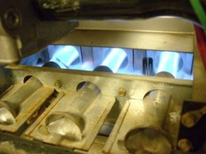 atmospheric combustion gas furnace