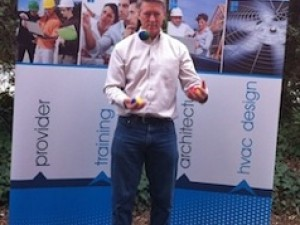 RESNET conference 2012 displays energy vanguard home energy juggler