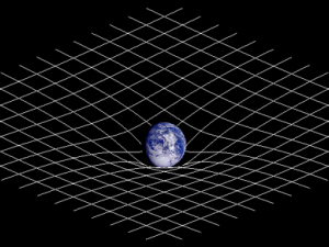 spacetime curvature modeling experimental data