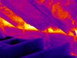 spray foam insulation building envelope new big hole 2 infrared image Jamie Kaye