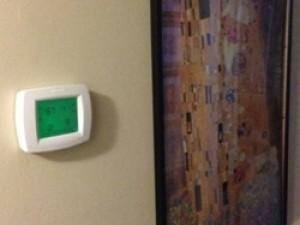 thermostat setting heat pump heating