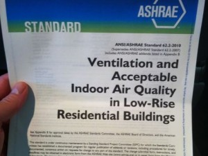 ventilation ashrae 62.2 2010 low rise residential standard