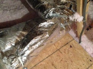 ventilation duct outdoor air return plenum