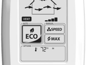 ventilation eco touch controller fantech