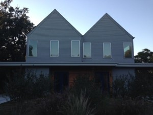 water catching roof austin texas