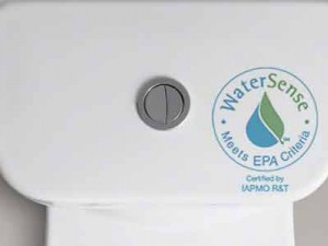 watersense low flush toilet water efficiency